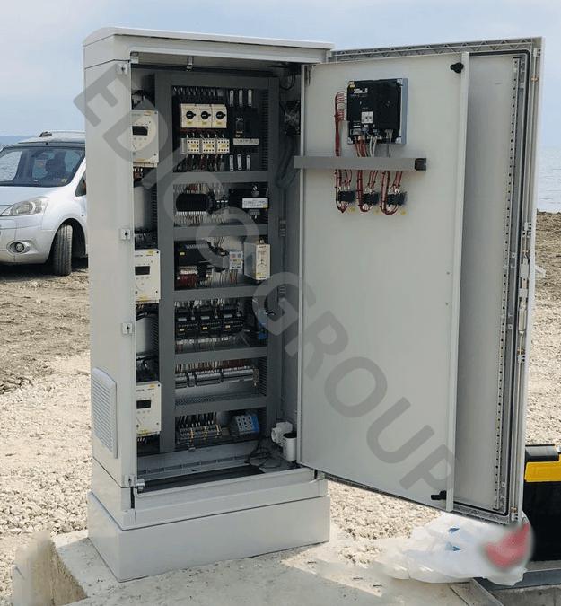 Panel Kontrolli për 3 Pompa